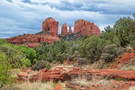 sedona: Cathedral Rock In Sedona Arizona