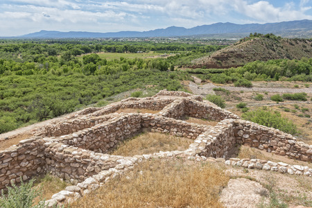 Tuzigoot National Monument In Clarkdale Arizona Imagens