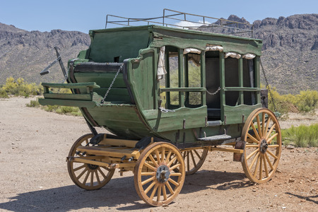 western usa: Old Western Stage Coach