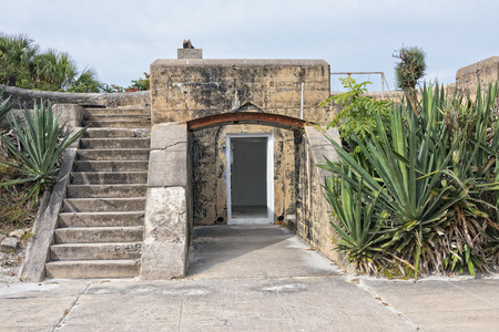 egmont: The Ruins Of Fort Dade, A Spanish American War Fort On Egmont Key In Florida