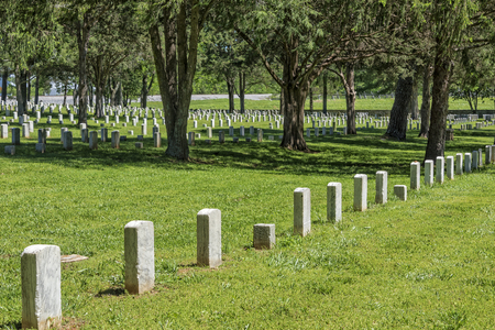 Stones River National Battlefield And Cemetery In Murfreesboro Tennessee Reklamní fotografie