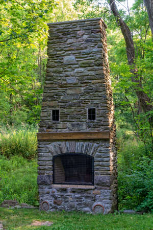 Fireplace built by the Civilian Conservation Corps In Gibsonville Which I Part Of Letchworth State Park In New York