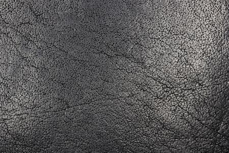 Soft Black Leather Surface Grain Texture macro detail Stock fotó