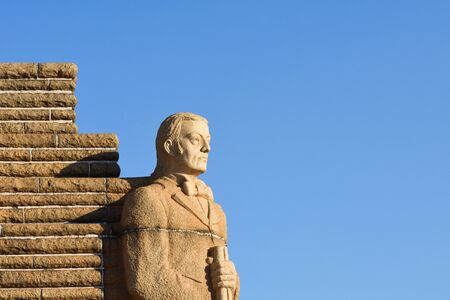 The Andries Pretorius Cornerstone Of The Voortrekker Monument Memorial, Pretoria, South Africa