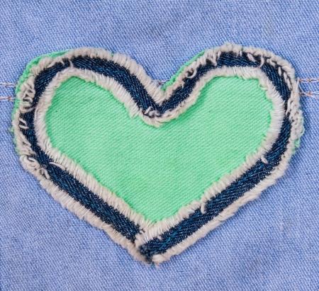 Het ontwerp hart van jean