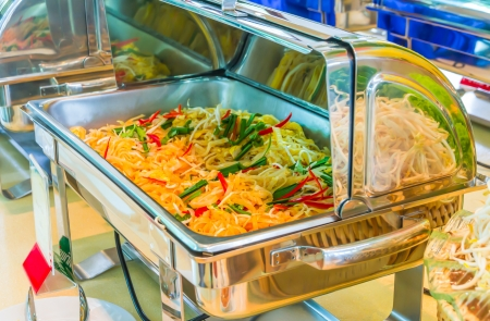 Pad Thai food Stock Photo - 21086885