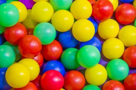 The mixed ball color texture design   photo