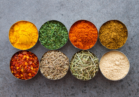 spice: Spices mix selection background for decorate design project
