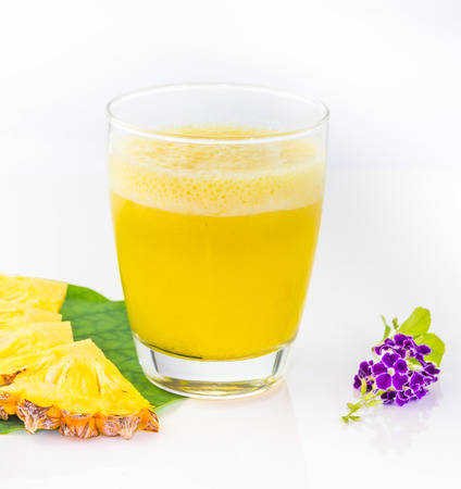 decorate: Pineapple juice for design or decorate project.