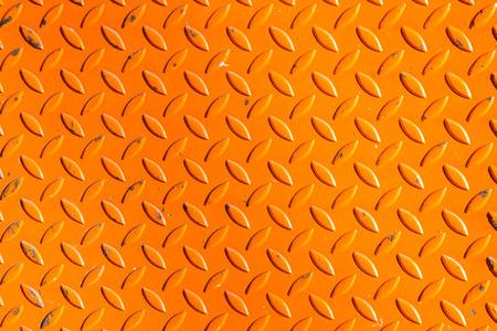The steel design background color orange