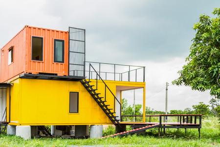 viviendas: Hermosa casa Exterior para el dise�o de fondo. Foto de archivo