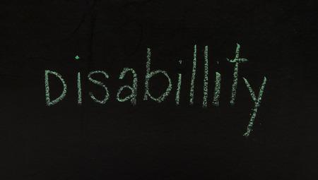 firmeza: La escritura de negocios concepto de la idea en el fondo negro de la tarjeta.