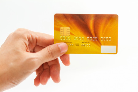 shoping: Online payment, hands holding a credit card and using for online shopping,shoping card,shoping content.