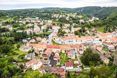 The city Vranov nad Dyji in the Czech Republic, Vranov dam, Dyje