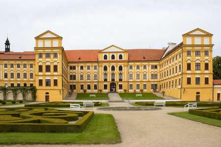 Jaromericce nad Rokytnou chateau and park, Czech Republic, Europe