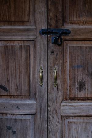 Pattern old door