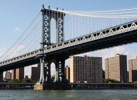 Manhattan Bridge connecting Lower Manhattan with Brooklyn