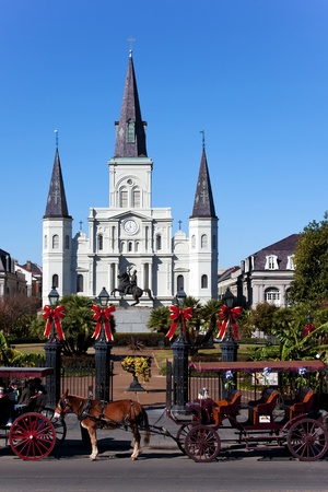 Saint Louis Cathedral Day photo