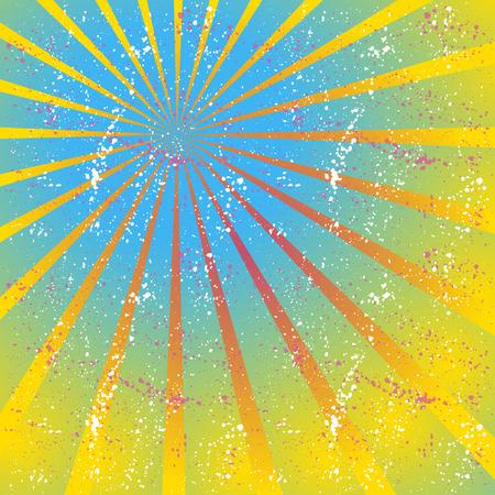radiating: Radiating, converging lines, rays. Bright star burst, sunburst background.