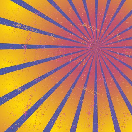 converging: Radiating, converging lines, rays. Bright star burst, sunburst background.