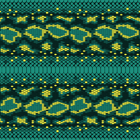 structure Snake skin seamless vector pattern for girls, boys, clothes. . Reptile seamless texture. Animal print. Funny wallpaper for textile and fabric. Fashion style. Colorful bright. Vectores