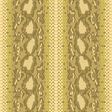 structure Snake skin seamless vector pattern for girls, boys, clothes. . Reptile seamless texture. Animal print. Funny wallpaper for textile and fabric. Fashion style. Colorful bright. Stock Illustratie