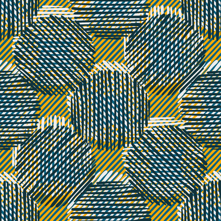 Abstract Ikat and boho style handcraft fabric pattern for girls, boys, clothes. Traditional Ethnic design for clothing and textile background, carpet or wallpaper. Fashion style. Colorful bright