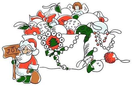 Christmas decorations Stock Vector - 15681519
