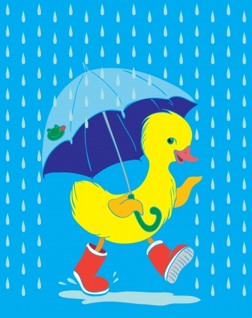 botas de lluvia: Patito