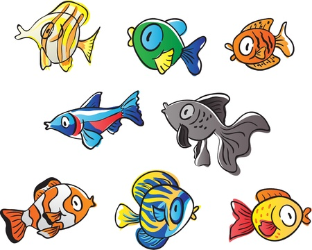 Fishes Stock Vector - 15938102