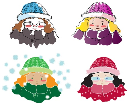 snowflacke: Four frozen girls