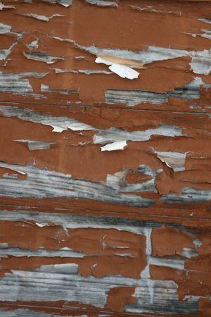 Altes Holz Anschlussgleis mit Farbe abblättern Standard-Bild - 2175652