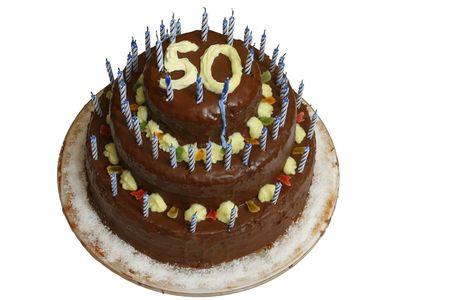 number 50: Cake con el n�mero 50