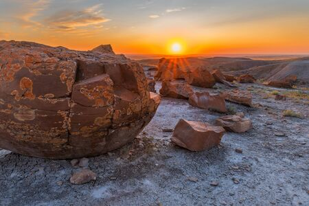 Red Rock Coulee Provincial Park in Alberta