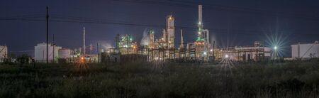 Gas Plant at Lovington, New Mexico Banque d'images