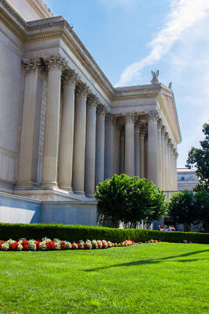 justices: Federal Court Building in Washington DC