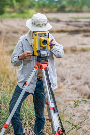 theodolite: Surveying or land surveying is the technique, profession, and science of determining the terrestrial or three-dimensional position of points and the distances and angles between them