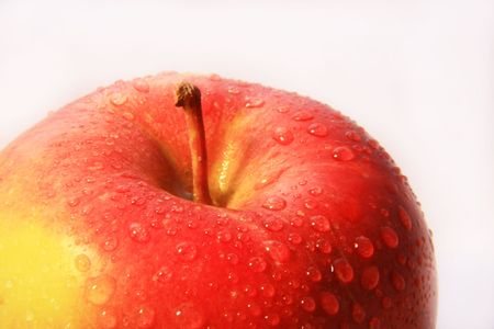 photo of fresh and juicy apple