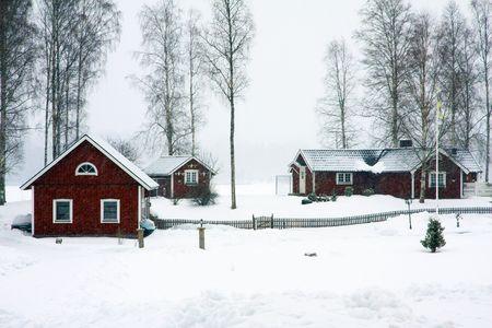 sweden winter: sweden winter
