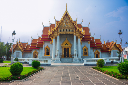 This is one of a most famous buddha temple in Thailand Stock Photo