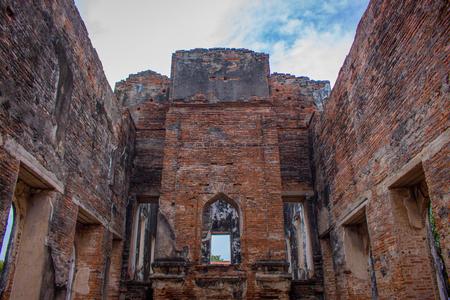 Ancient building in Lopburi, Thailand Stock Photo