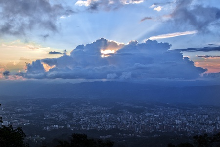 santander: Bucaramanga, Colombia Stock Photo