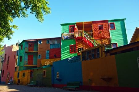 ブエノスアイレスのラボカ近所