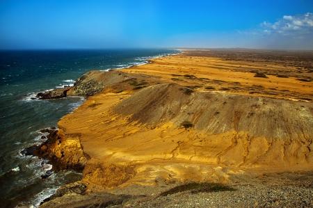 The view as seen from Pilon de Azucar in La Guajira, Colombia