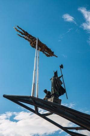 santander: A statue in Chicamocha park in Santander, Colombia