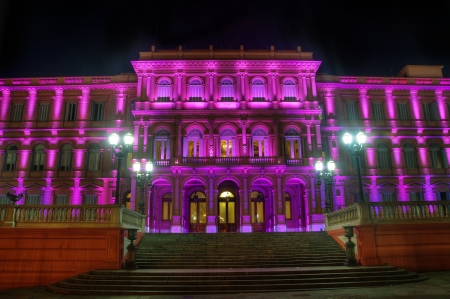 The Pink House, the house of the government in Buenos Aires, Argentina