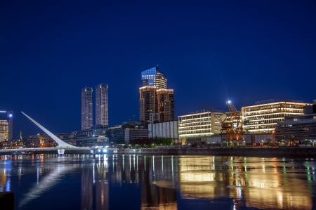 Beautiful Puerto Madero and the Women photo