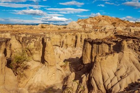 huila: Ca��n seco desierto en Huila, Colombia Foto de archivo