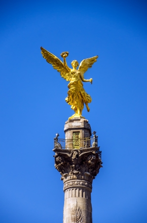 mexico city: Angel of Independence monument in Mexico City