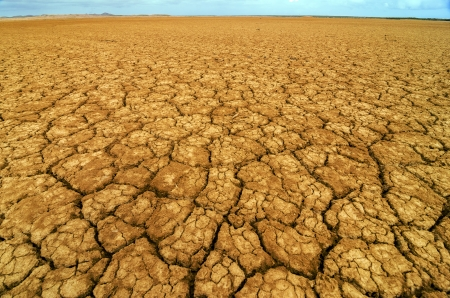 cracked earth: Dry cracked earth in a desert in Colombia